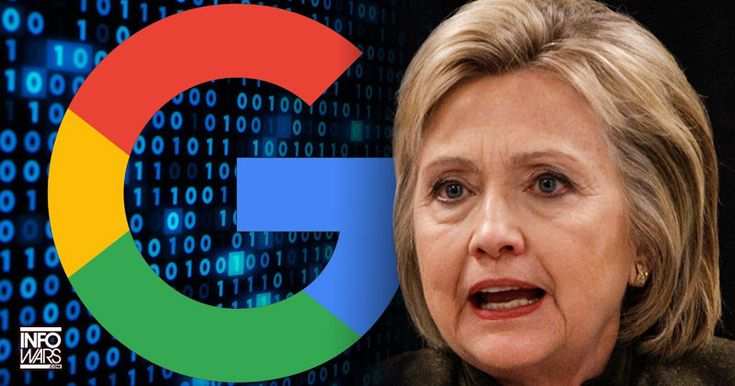 6/10/16 Google Caught Censoring for Criminal Hillary; If you needed anymore proof that Google is evil this is it.