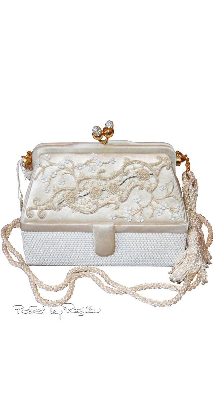 Regilla ⚜ Judith Leiber wedding purse