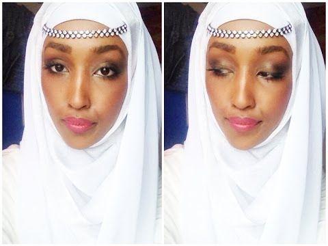 ▶ Bridal Hijab Tutorial - Hijab Tutoriel Mariée - YouTube