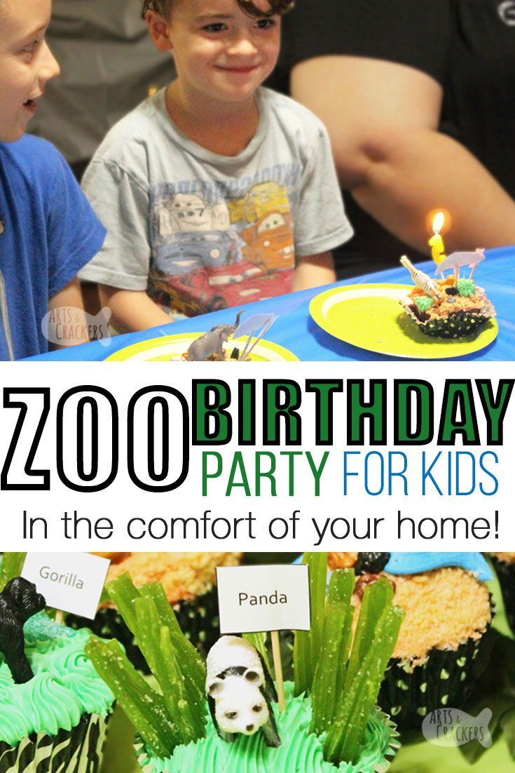 How To Throw A Zoo Party At Home Zoo Party Zoo Birthday Party