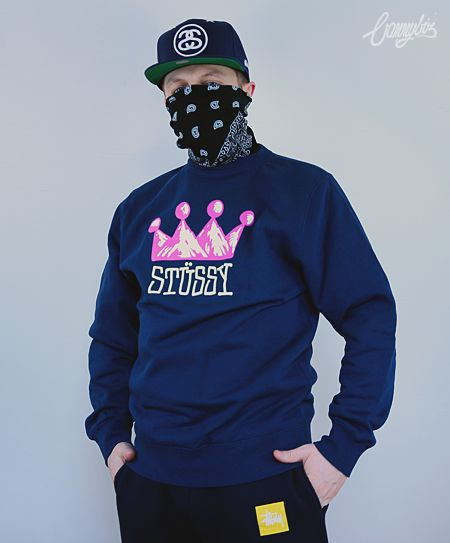 Bluza Stussy Mountain Crown