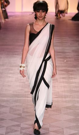 Tarun Tahiliani Summer/Resort 2014  (interesting sari wrap)