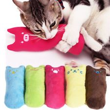 Interactive Catnip Fancy Pets Cat Teeth Grinding Claws Pet Funny Toys Cat Pillow