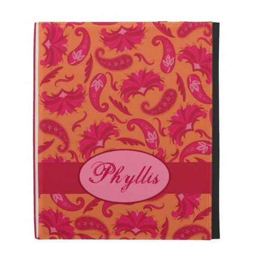 =>>Cheap          Red & Orange Parisian Paisley Name Monogram iPad iPad Folio Covers           Red & Orange Parisian Paisley Name Monogram iPad iPad Folio Covers Yes I can say you are on right site we just collected best shopping store that haveThis Deals          Red & Orange P...Cleck Hot Deals >>> http://www.zazzle.com/red_orange_parisian_paisley_name_monogram_ipad_case-222945798327921297?rf=238627982471231924&zbar=1&tc=terrest