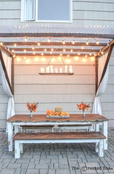 25 Best Backyard Seating Ideas On Pinterest Diy Garden