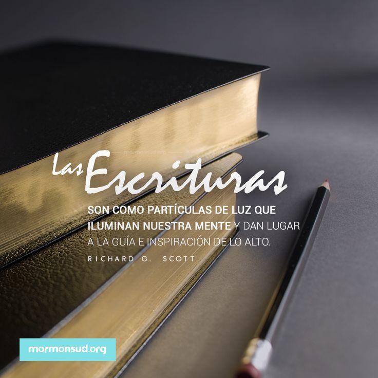 El poder de las Escrituras. #LibrodeMormon #SUD