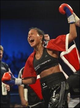 Cecilia Brækhus boxer, Norway