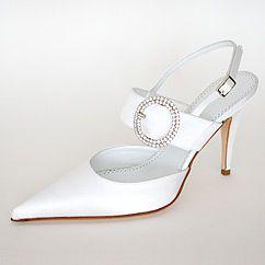 Gyönyörű menyasszonyi cipők
