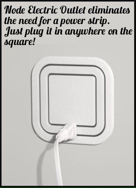 Node Electric Outlet Crazydesign Crazy Design