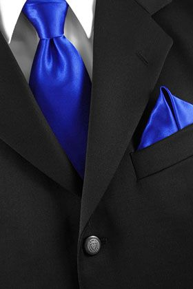 gravata seda azul royal padrinho - Pesquisa Google
