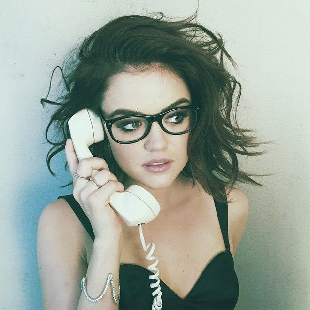 Lucy Hale's short hair <3