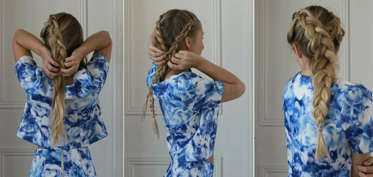 Sommarens finaste frisyr? Den utbakade dubbelflätan. Idag visar Elvira Jonsson dig hur du gör, steg för steg.