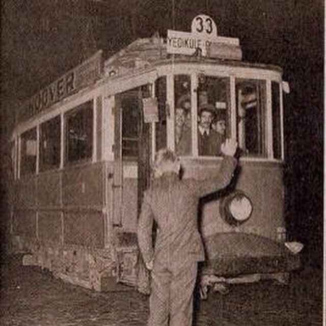 #yedikule #tramvay #eskiistanbul #oldpicture #istanbul #istanbuldayasam #bahcekapi #benimyedikulem #instapic #constantinople #istanbullove #istanbullife  (Yedikule, Istanbul, Turkey)