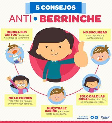 Imágenes educativas: 5 consejos para los berrinches de niños y niñas en imagenes
