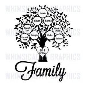 Afbeeldingsresultaten voor blank family tree template