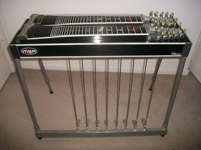 Msa Classic D-10 Pedal Steel Guitar | Pedal Steel Guitars