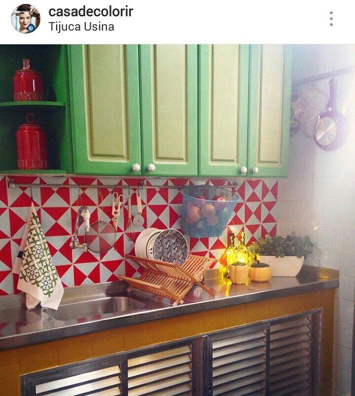 Wunderbar Decoration, Diy, Teachers, Baking Center, In Living Color, Tiles, Build
