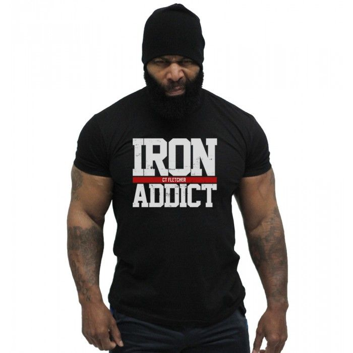 CT Fletcher - Iron Addict Tee