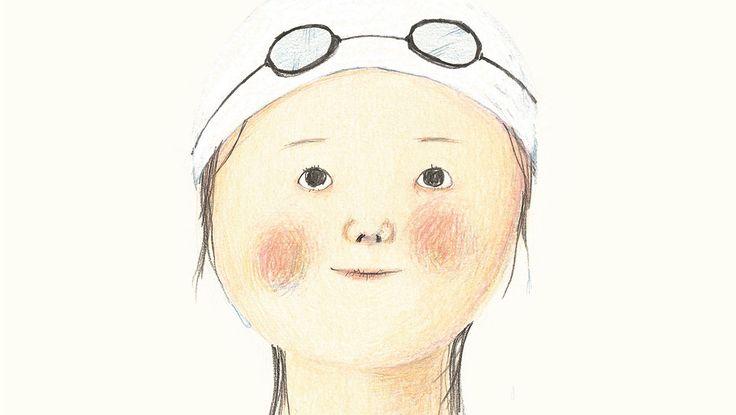 "Ji Hyeon Lee illustration for ""La Piscina""."