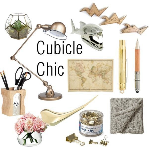 Shabby Chic Cubicle | Chic Cubicle Decor