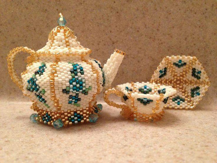 2 inch tall teapot