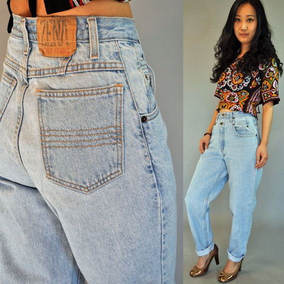 1000  images about High waisted jeans on Pinterest | High waisted ...