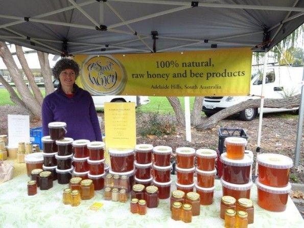 Adelaide Hills Farmers Market Producer - As Sweet As Honey.