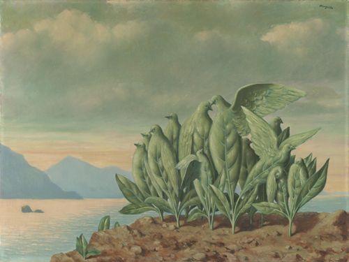 Magritte - L'Ile au Trésor