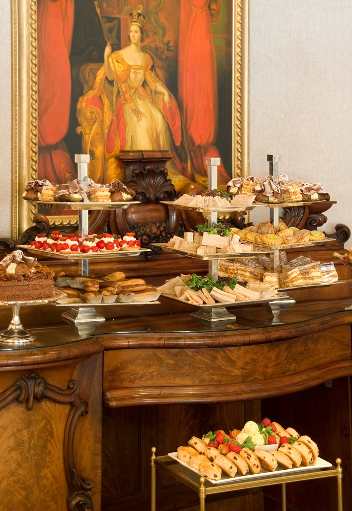 The Rubens at the Palace serves the closest Afternoon Tea to Buckingham Palace