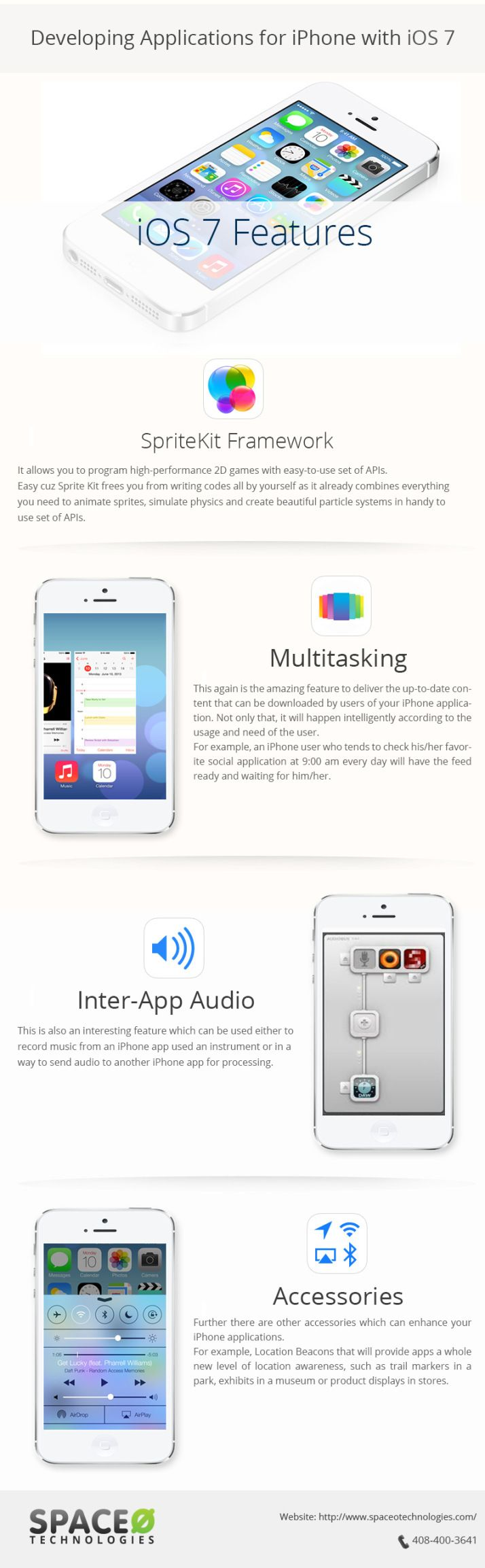 Developing Applications for iphone with IOS 7 #infographic... I can't stop watching the preview on Apple's page and getting really excited for this launch!