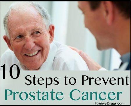 10 Steps to Prevent Prostate Cancer