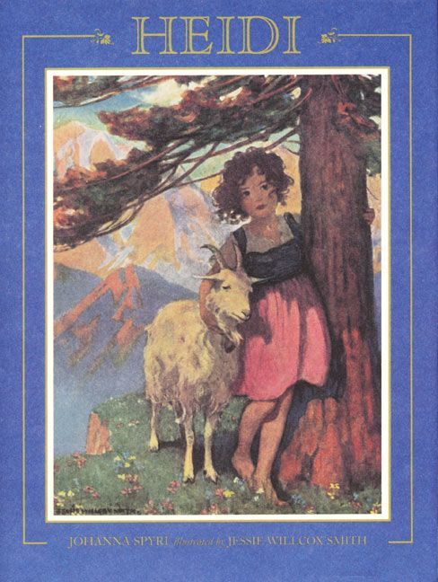 still a great story of love and restoration: Willcox Smith, Jessie Willcox, Jesse Wilcox, Wilcox Smith, Illustration, Jessie Wilcox, Johanna Spyri, Children S Books, Heidi
