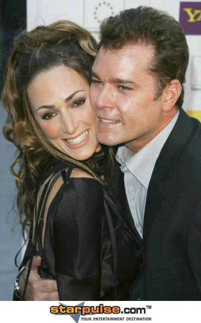 Ray Liotta and His Wife | Ray Liotta | Ray Liotta ...