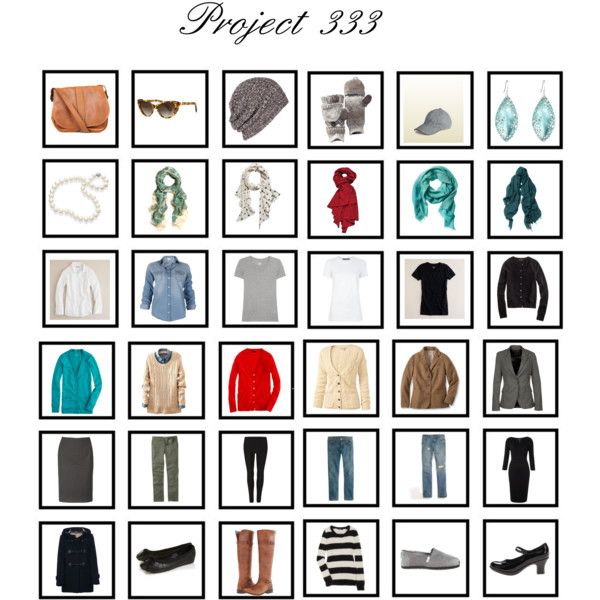 """Project 333 Winter 2013"" by enchantedthimble on Polyvore"