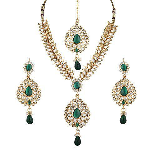 Bollywood Ethnic Green Stone Kundan Long Wedding Women Ne... https://www.amazon.com/dp/B01N537MX7/ref=cm_sw_r_pi_dp_x_KfRNyb1EQWWS8