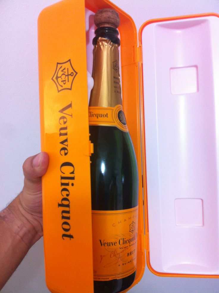 Veuve Clicquot Brut Yellow Label Fridge Box  Veuve Clicquot remains one of the most popular Champagnes all over the world for it's elegance, lively palate and rich texture. Veuve is the ultimate celebration wine and for a very limited time you can buy Veuve Clicquot Yellow Label Brut packaged is a wonderfully attractive and fun gift casing modelled on a 'retro' refrigerator.