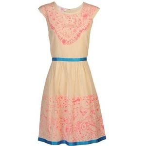 a cute batik dress