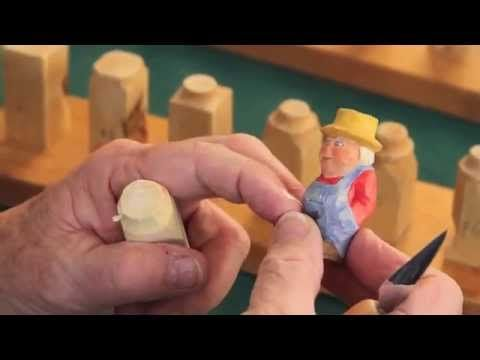 Step by Step How To Carve a Little Person Steps 1-4 - YouTube
