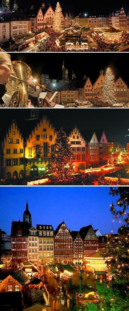 Frankfurt Christmas Market- now i NEED to go one of these German Christmass markets! Guess i have an excuse to go back to Germany :)