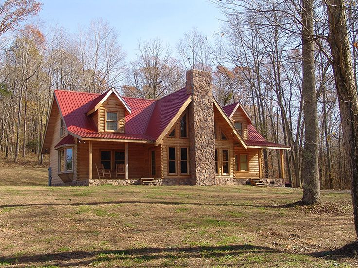 Tin Roof Is The Best Log Homes House Roof Log Homes