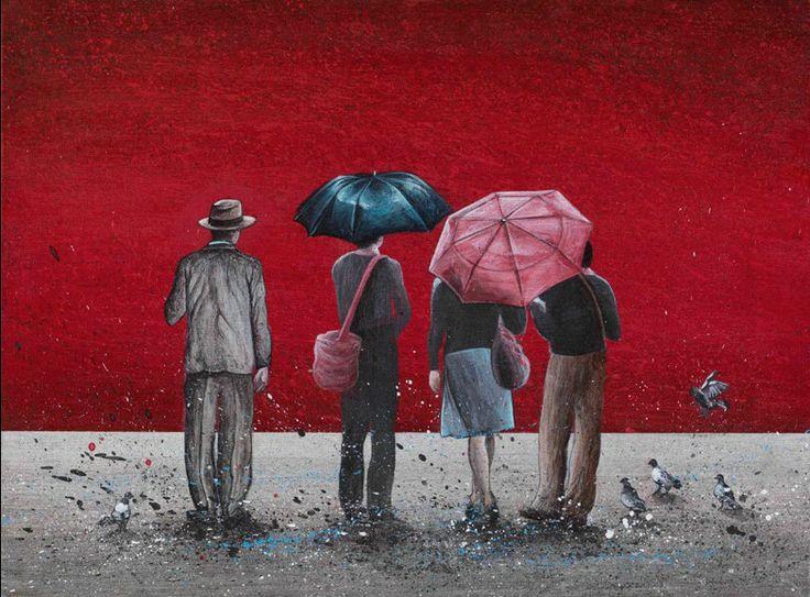 «Διαδρομές 2013». Έργο της Δάφνης Αγγελίδου, αν. καθηγήτριας της ΑΣΚΤ. Εκθέτει στην Gallery 7, Σόλωνος 20 - Αθήνα, ως τις 4 Ιανουαρίου 2014. http://www.dafniangelidou.gr/  #meetGreece #Greek_paint