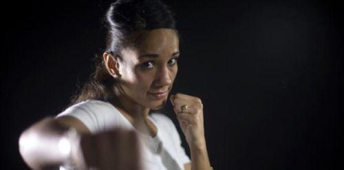 [VÍDEO] Amanda Serrano: La cara linda del boxeo...