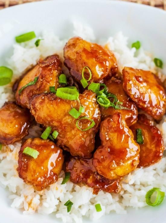 Firecracker Chicken - Love with recipe
