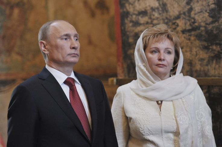 A rare glimpse into the secretive Putin family life.