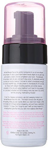 Million Dollar Tan's Mermaid Mousse for FACE Gradual Sunless Tanning Mousse 4oz Bottle - http://best-anti-aging-products.co.uk/product/million-dollar-tans-mermaid-mousse-for-face-gradual-sunless-tanning-mousse-4oz-bottle/