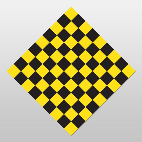 CHECKERBOARD Sign