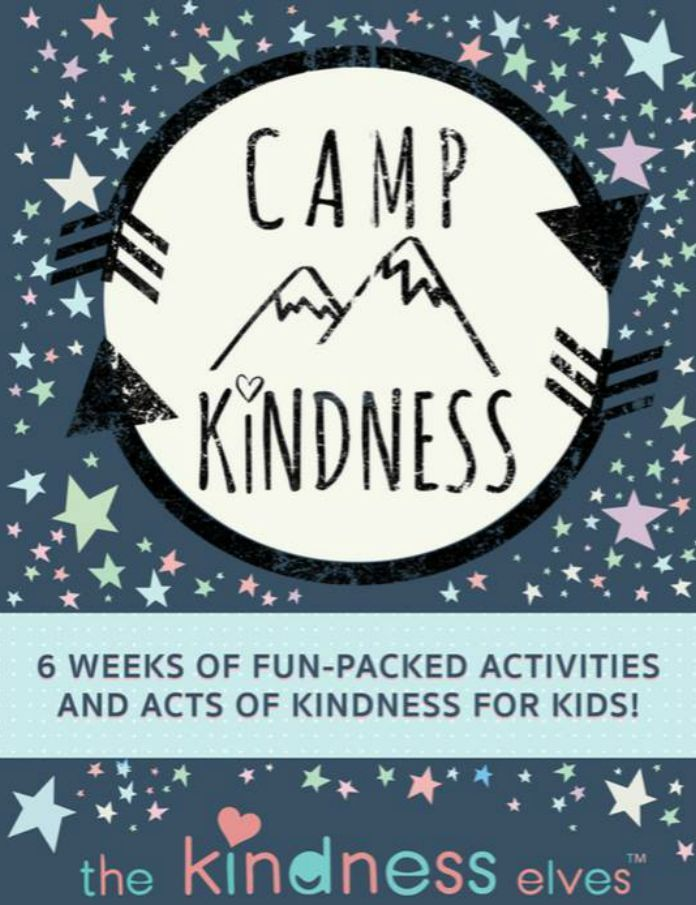 Teach your kids how to have empathy for others this summer when you join Camp Kindness! A 6-week summer program you can do from home or in a summer classroom.