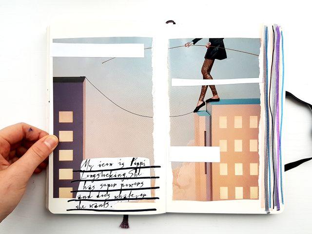 Jules + Tea   Introspection   Get Messy Art Journal