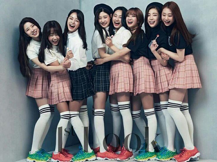 #Produce101 Lee Suhyun, Choi Yoojung, Kim Sejeong, Jung Chaeyeon, Kang Mina, Han Hyeri, Yoon Chaekyung, Yu Yeunjung