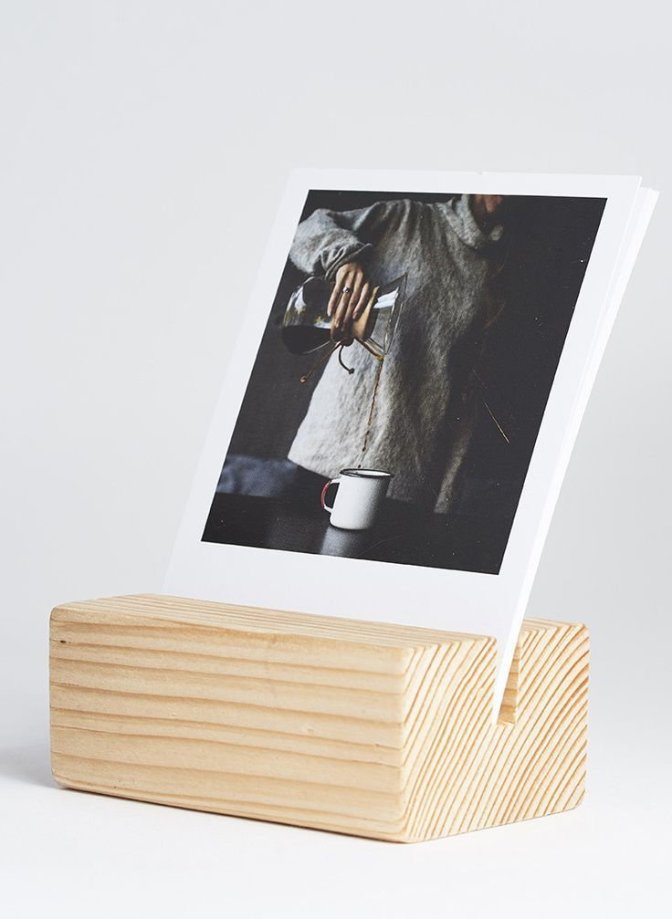 WOOD BLOCK and PRINTS by INKIFI. The perfect gift and desk accessory. Great gift idea. 16 photos printed as 11cm x 9cm Vintage Prints together with a wooden display block, created from reclaimed timber from the Welsh forests.